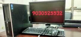 HP I3 2ND GENERATION 320.GB HDD 4.GB RAM DVD 19 INCH LCD FULL SYSTEM