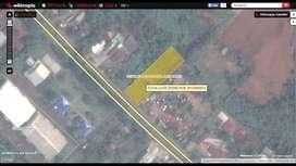 TANAH ±2.000m2 UNTUK RESTORAN - KANTOR DI JL. KM9 DEKAT POLDA BENGKULU