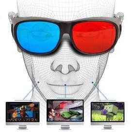 Kacamata 3D Frame Plastik Untuk Film 3D