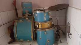 Drum set bekas + stick drum