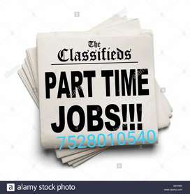Part Time — Full Time jobs Make RS. 30,000 to 35,000 per