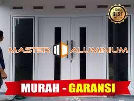 Pintu Jendela Kaca Kasa Nyamuk Kamar Mandi Aluminium Geser Sliding Wiy