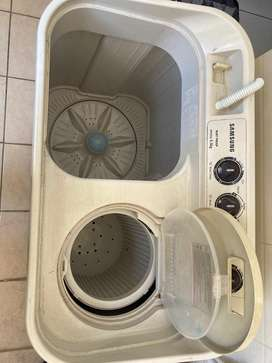 Samsung 6.5 kg, semi automatic wasing machine
