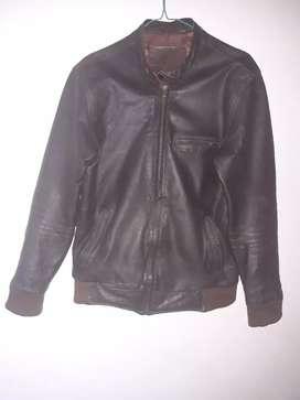 Jaket kulit asli