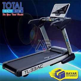 Alat Fitness Treadmill Elektrik TL 33 AC Motor 3hp - Treadmill Murah