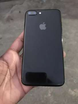Iphone 7plus 128gb with box finger ok original lcd pta approved