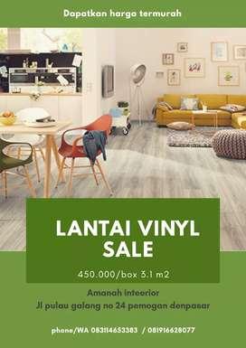 Lantai vinyl buat ruangan rumah,villa dls