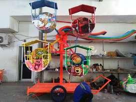 kincir mini angin odong kereta panggung mini coaster DP RENDAH