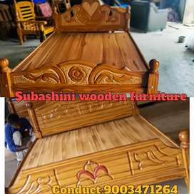 High quality wood work wooden furniture wooden cot for sale