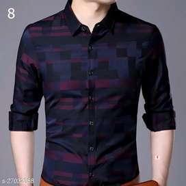 Pretty Retro Men Shirt Fabric*