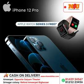 Apple iphone 12 pro now available with series2 watch free at N4U