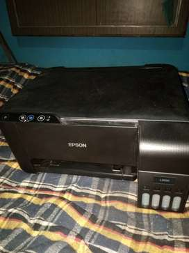 L3100 ink tank Epson coloured printer and scaner.only 3 month old