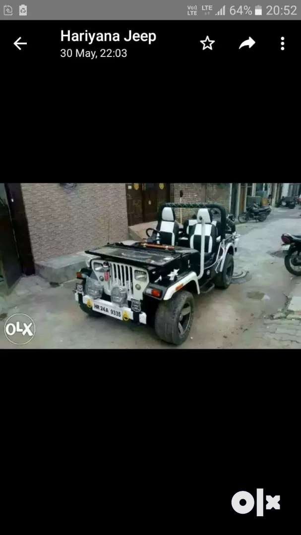 Hunter jeep jonga katta willy available in rohtak 0