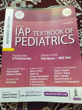 IAP BOOK OF PEDIATRICS VOL 2