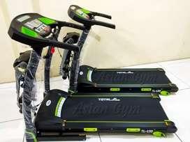 Treadmill elektrik TL 130 2hp 4 fungsi bergaransi & ada bonus