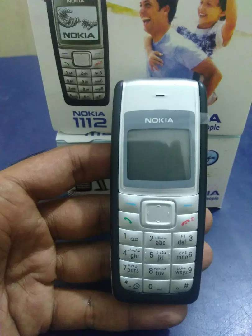 Nokia 1112 PTA Approved Original Phone Box Pack With Free Delivery 0