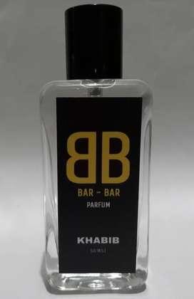 Parfum pria Khabib 50mili tahan seharian, buktikan sendiri