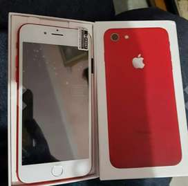 IPHONE 7 RED 2 DAY USE PHONE EVERYTHING AVAILABLE BILL BOX EARPHONE