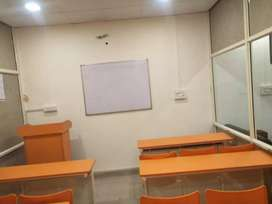 Commercial spaces furnished available on rent  prominent business hubs