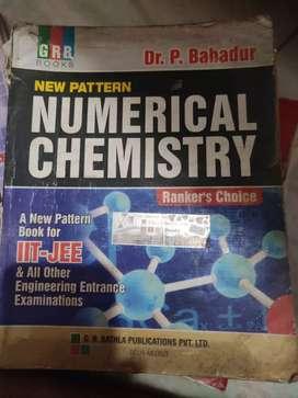 P. BAHADUR NUMERICAL CHEMISTRY GRB BOOKS