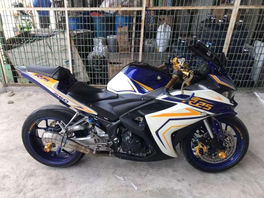 Yamaha R25 Tahun 2015 FULLMODIF