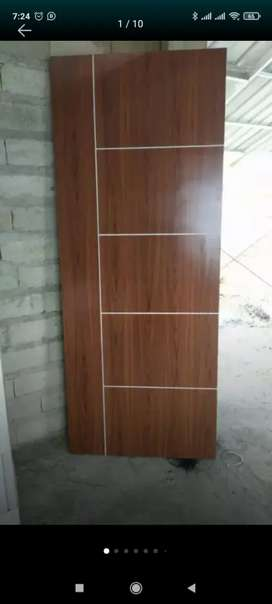 Daun pintu multiplek dan kayu