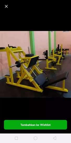 Alat Gym Fitness Leg Press Dipping Tempahan