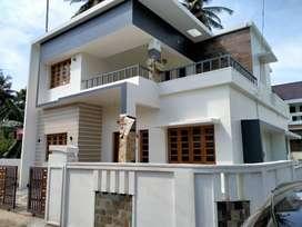 Thrissur, Mundoor,  2000 sq. ft, 4bhk, stylish new villa.