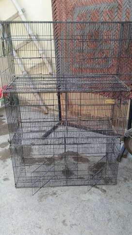 8 portion cage for birds