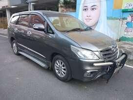 Toyota Innova 2.5 VX BS III 8 STR, 2014, Diesel