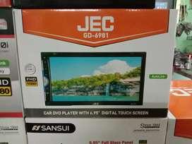 Plus pasang + DobelDin Jec New Full HD TYPE GD-6980