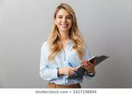 Looking for a female secretary