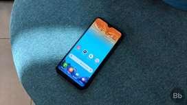 Samsung Galaxy m10 blue abhi new hai