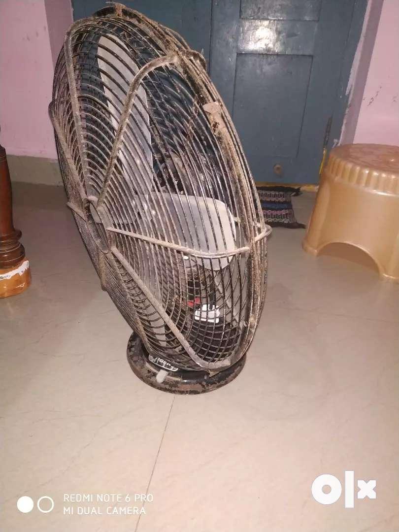 Mine fan fan