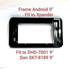 "Head Unit Android 9"" Plus Frame  New Livina 20..KIKIM VARIASI..19"