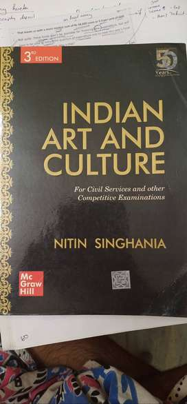 Indian Art and Culture (for civil service examination)tions