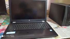 Hp notebook 15 i5 8th gen best condition 2 year's
