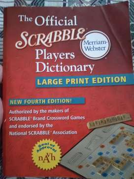 Scrabble Players Dictionary Merriam-Webster