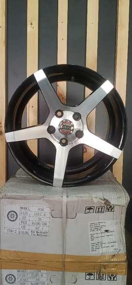 Zeki Plain Nickel 16 inch alloy wheel