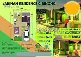Rumah ready harga ekonomis lokasi strategis di cibinong