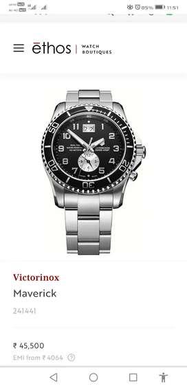 Original Swiss watch VICTORINOX Maverick