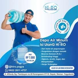 Gratis Antar, Air minum galon RO kualitas terbaik
