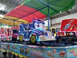 odong kereta panggung robocar tayo fiber wahana mainan terlengkap iiw