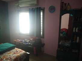 2 bhk 2 years old with full wood work private balcony