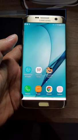 Samsung s7 edge 4/32 Ori SEIN. Gold. Minus LCD. Sesuai gambar