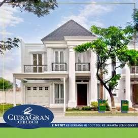 Rumah Kawasan Citra Grand Cibubur 2 menit ke Pintu Tol