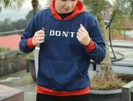 Jual jaket hoodie laki2 uk L