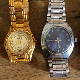 Timex, HMT, FCUK watches