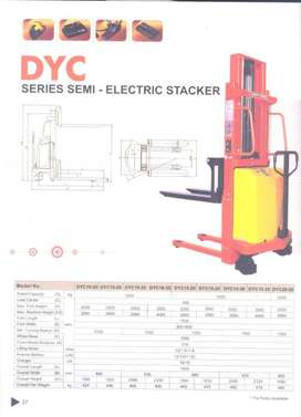 Hand Lift, Hand Lift Stacker, Stacker Electric