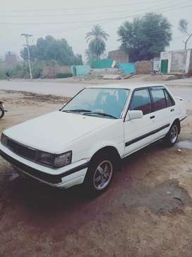 1986 Model corolla with CNG / petrol